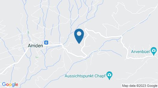 AmdenLodge - Bienenheim Naturhostel Map