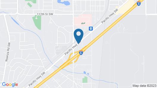 Holiday Inn Express Tacoma South Lakewood, an IHG Hotel Map