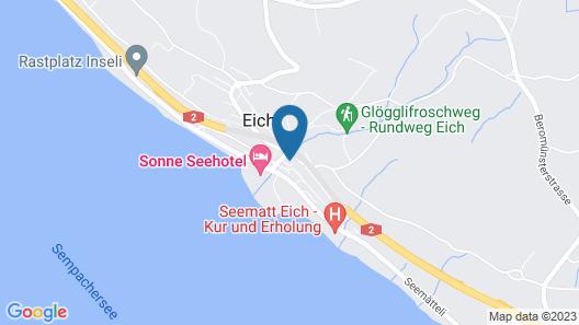Ferienhaus Seeblick Map