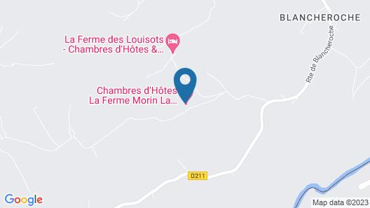 La ferme Morin la Ronde Fontaine Map