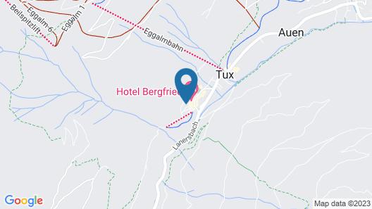 Aktiv- & Wellnesshotel Bergfried Map