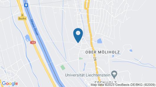 Youth Hostel Schaan-Vaduz Map
