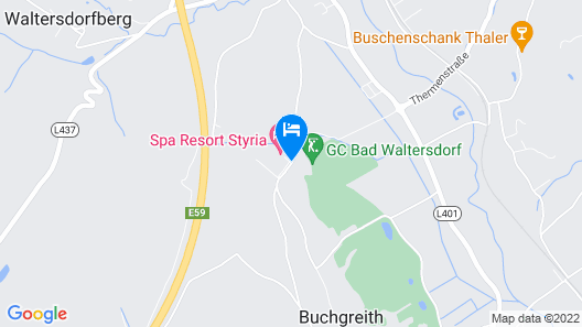 Spa Resort Styria - Adults Only Map