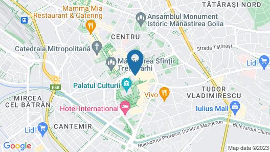 Hotel Moldova Map