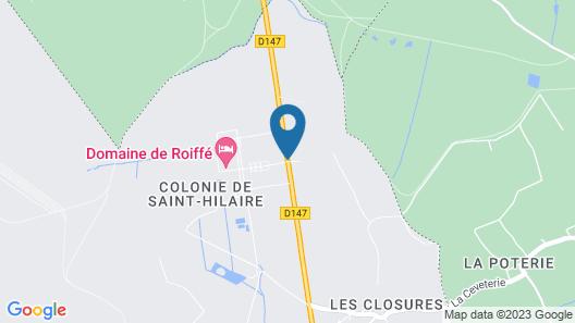 Domaine de Roiffé Map