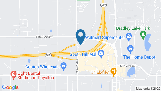 Holiday Inn Express Hotel & Suites Puyallup (Tacoma Area), an IHG Hotel Map