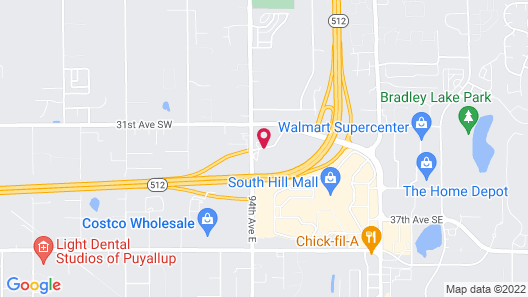 Holiday Inn Express Hotel & Suites Puyallup (Tacoma Area) Map
