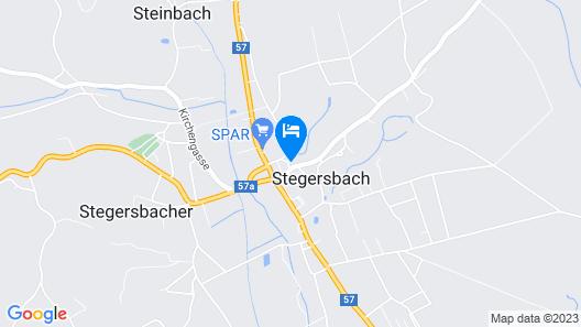Landhotel Stegersbach Map