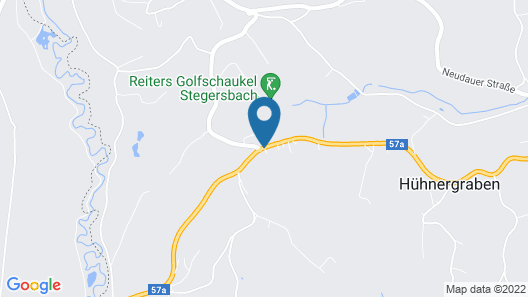 Golf & Therme Sonnenpension Hotel Garni Map