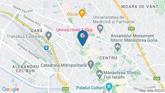 Unirea Hotel & Spa Map