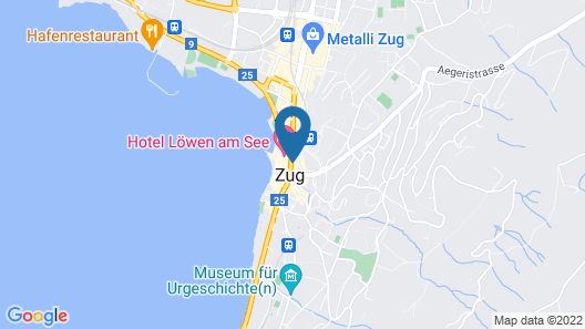 Stylish Apartment in the Heart of Zug by Airhome Map