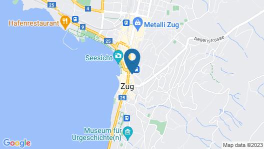 Hitrental Zeughausgasse Apartments Map