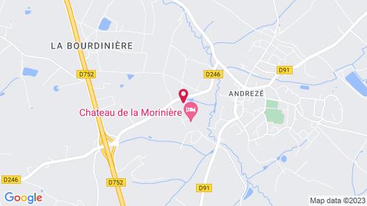 Chateau de la Moriniere Map