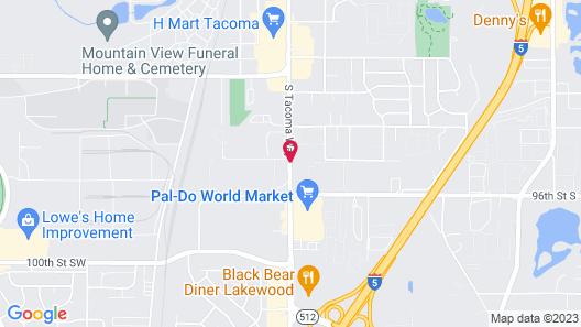 Days Inn by Wyndham Lakewood South Tacoma Map