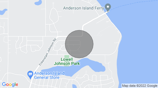 Anderson Islands Most Peaceful Home Map