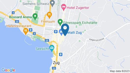 Parkhotel Zug Map