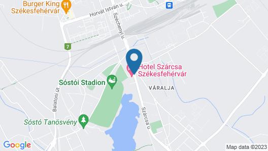 Hotel Szárcsa Map