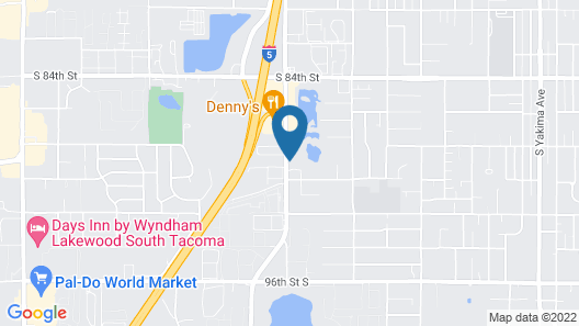 HomeTowne Studios by Red Roof Tacoma - Hosmer Map