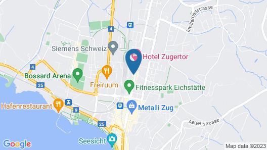 Hotel Station Zug Map