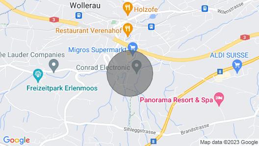 Apartment in Wollerau Upscale Swiss Village Map