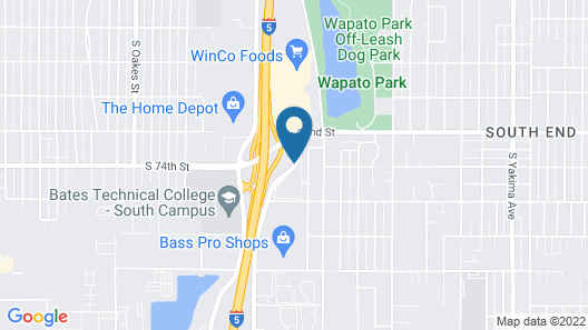 Hotel Thea Map