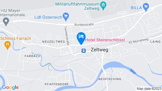 Hotel Steirerschlössl Map