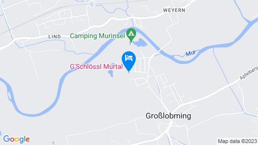 G'Schlössl Murtal Map