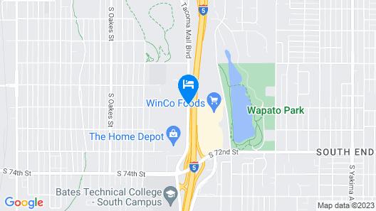 Clarion Inn near JBLM Map