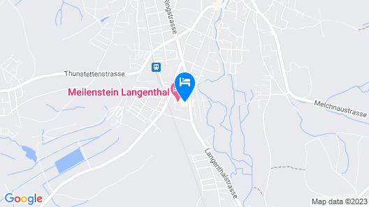 Hotel Meilenstein Map