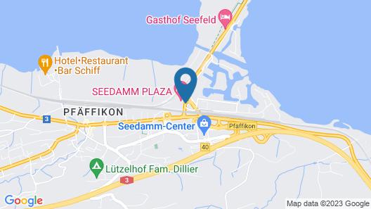 Seedamm Plaza Map