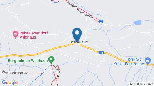 Hirschen Wildhaus Map