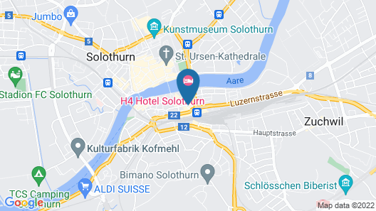 Hotel Ambassador Map