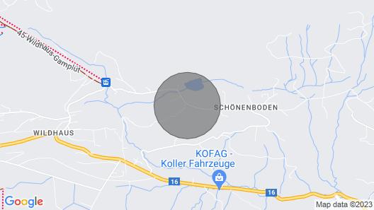 Exclusive chalet at Schönenbodensee Map