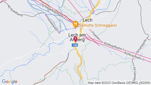 Hotel Gotthard Map