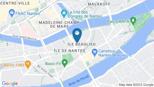 Seven Urban Suites Nantes Centre Map