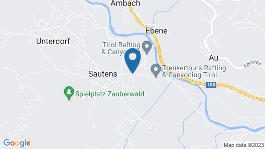 Tiroler Chalet Oetztal Map