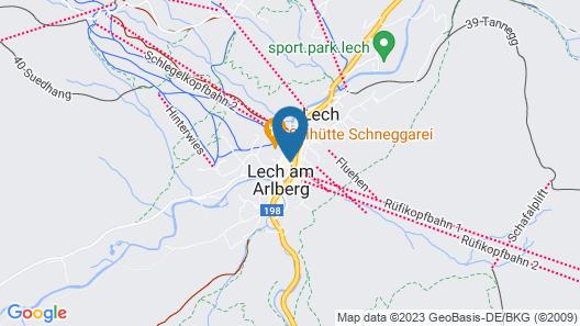 Hotel Arlberg Map