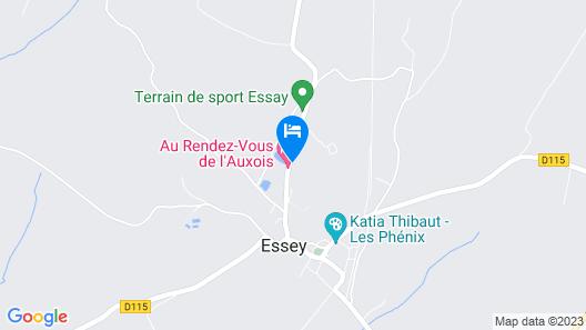 Maison De L'etang Map