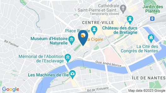 Best Western Hotel Graslin Map