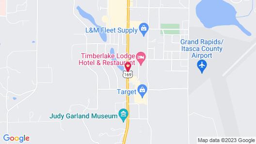 AmericInn by Wyndham Grand Rapids Map