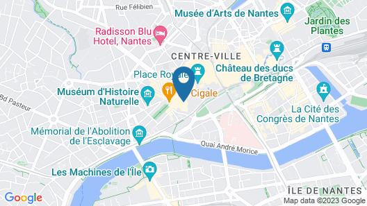 Maisons du Monde Hôtel & Suites - Nantes Map