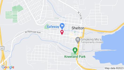 Shelton Inn Map