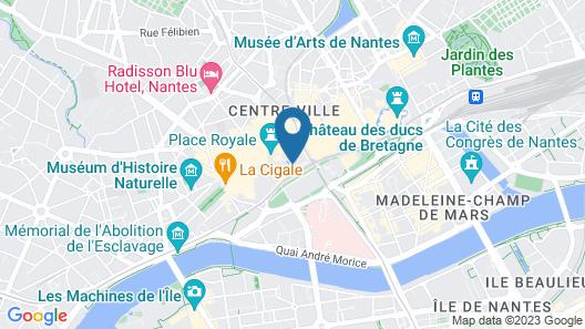 ibis Styles Nantes Centre Place Royale Map