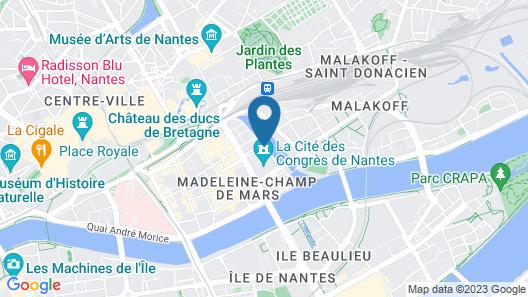 Novotel Nantes Centre Gare Map