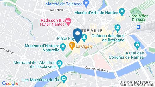 Mercure Nantes Centre Passage Pommeraye Map