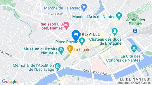 ibis Styles Nantes Centre Place Graslin Map