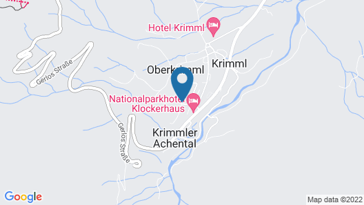 Charming Chalet in Krimml With Sauna Map