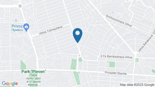 Tesoro Hotel Map