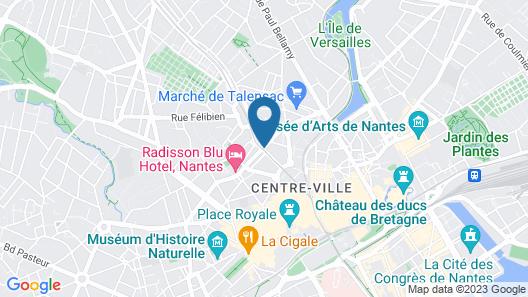 ibis Nantes Centre Tour Bretagne Map