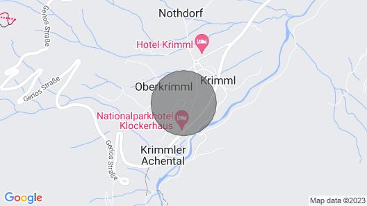 Holiday flat, Krimml Map